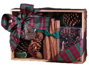 fireplace gift box