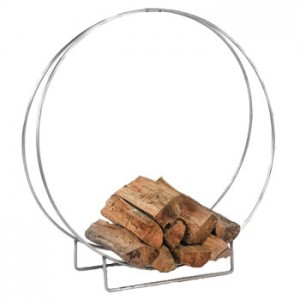 stainless steel log hoop