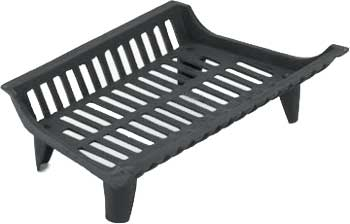 basket style of cast iron grate