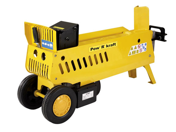 Electric hydraulic log splitter
