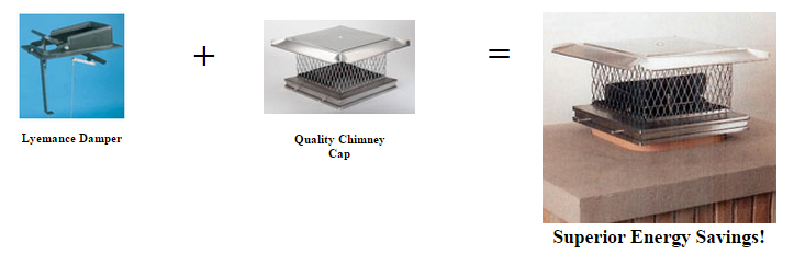 Chimney Cap Damper
