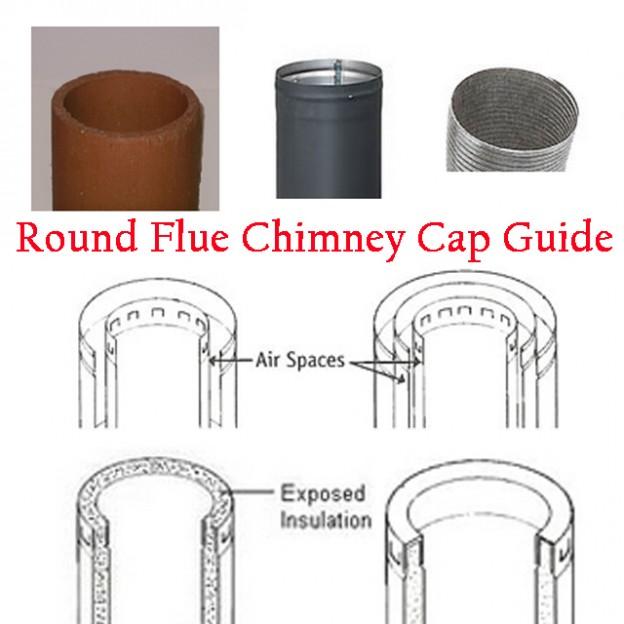 Round Flue Chimney Cap Guide