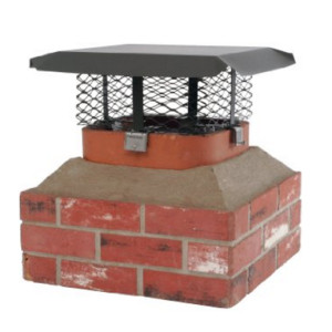 Chimney Cap Measure - HY-C Adjustable Clamp Chimney Cap