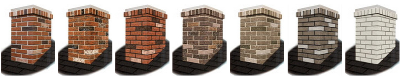 Brick Finishes for Chimney Surrounds
