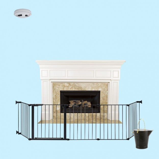 fireplace safety products