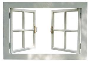 open the windows and doors