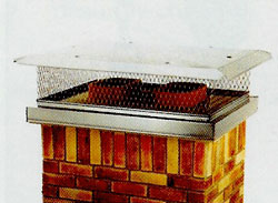 outside chimney cap measure to get the right fit