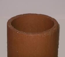 clay round flue