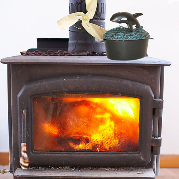 wood stove kettle steamer