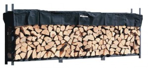 Woodhaven Log Rack, 12 feet, holds 3/4 Cord Firewood