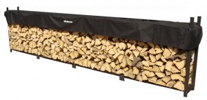 Woodhaven Log Rack, 12 feet, holds 1 Full Cord of Firewood