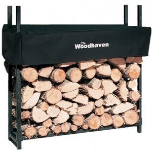 Woodhaven Log Rack, 3 feet, holds 1/8 Cord