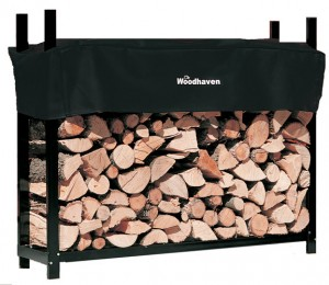 Woodhaven Log Rack, 5 feet, holds 1/4 + Cords of Firewood
