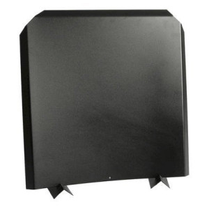 black stainless steel fireback
