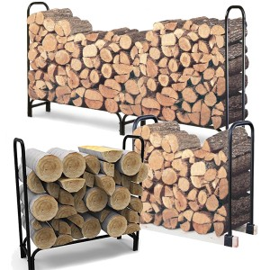 Tubular Steel Log Racks
