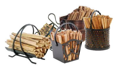fatwood caddies with fatwood fire starters