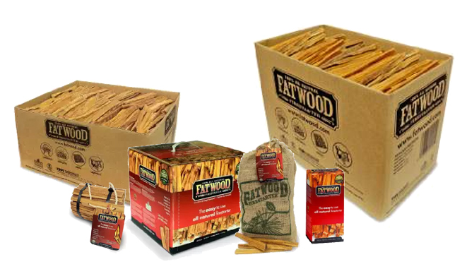 fatwood fire starters