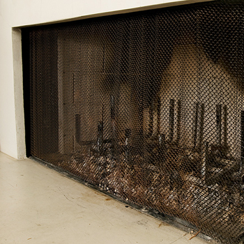 Fireplace Checklist: Clean out last year's ashes.