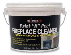 Remove soot and smoke stains with Paint N Peel
