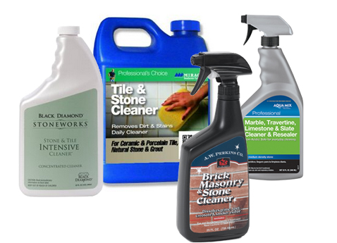 Commercial products to clean slate