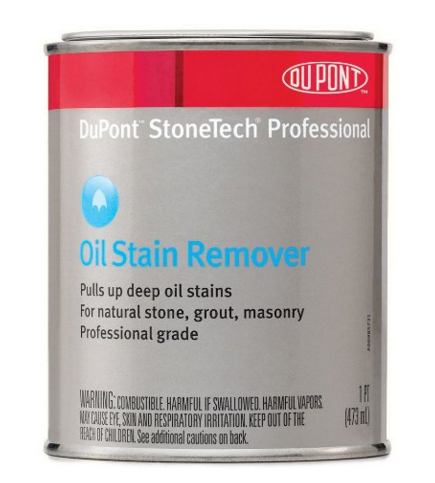 How to remove oil stains from state