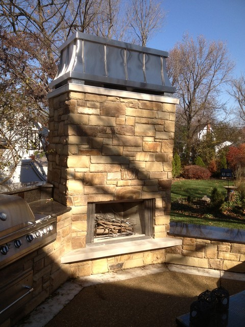 Decorative Chimney Cap on an Outdoor Chimney