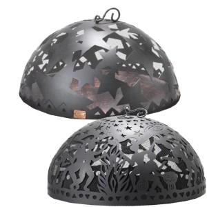 Art Fire Dome Fire Pit Screens
