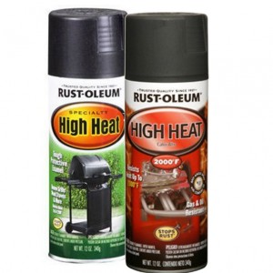 Before its first use, apply a high heat, rust resistant spray paint to a fire pit screen.