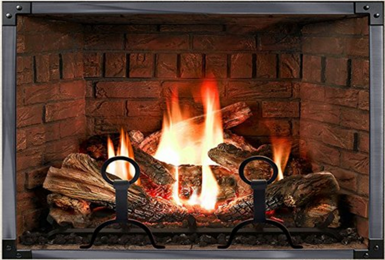 Experience This Incredible Realistic Fireplace Poster in Super High Quality