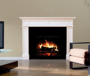 "Fathead Wall Decal, ""Fireplace"""
