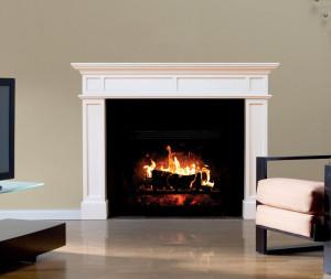 "Fathead Wall Decal, ""Fireplace"""
