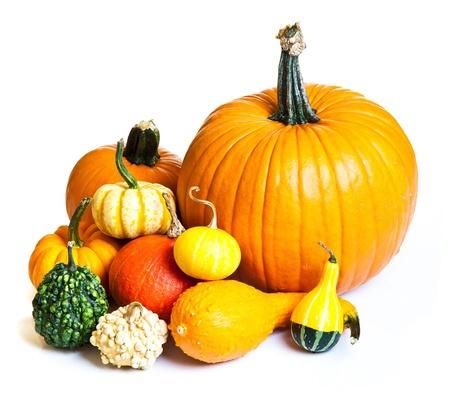 Pumpkins for Fall Mantel Decorating