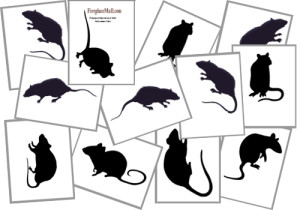 To get these rat silhouettes, click the Download button.
