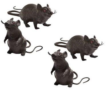 plastic rats