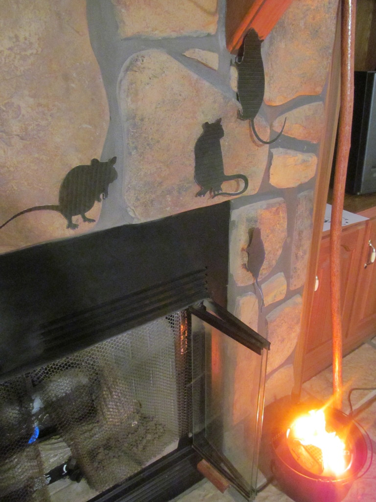 Scampering rats can climb up and around other wall, windows, and doorways in your home.
