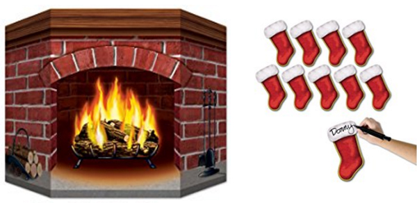 Cardboard Folding Stockings The Blog At Fireplacemall