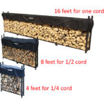 Storing cords of firewood - how much firewood per tree