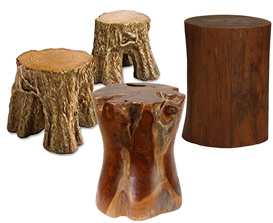 Diy Fire Pit Log Stump Stools The Blog At Fireplacemall