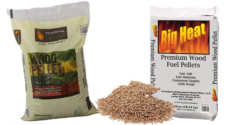 wood pellet fuel