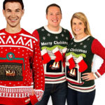 Fun Fireplace Sweaters